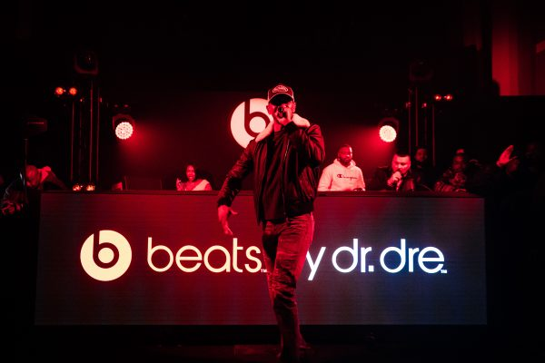 Giggs performing at the Beats afterparty